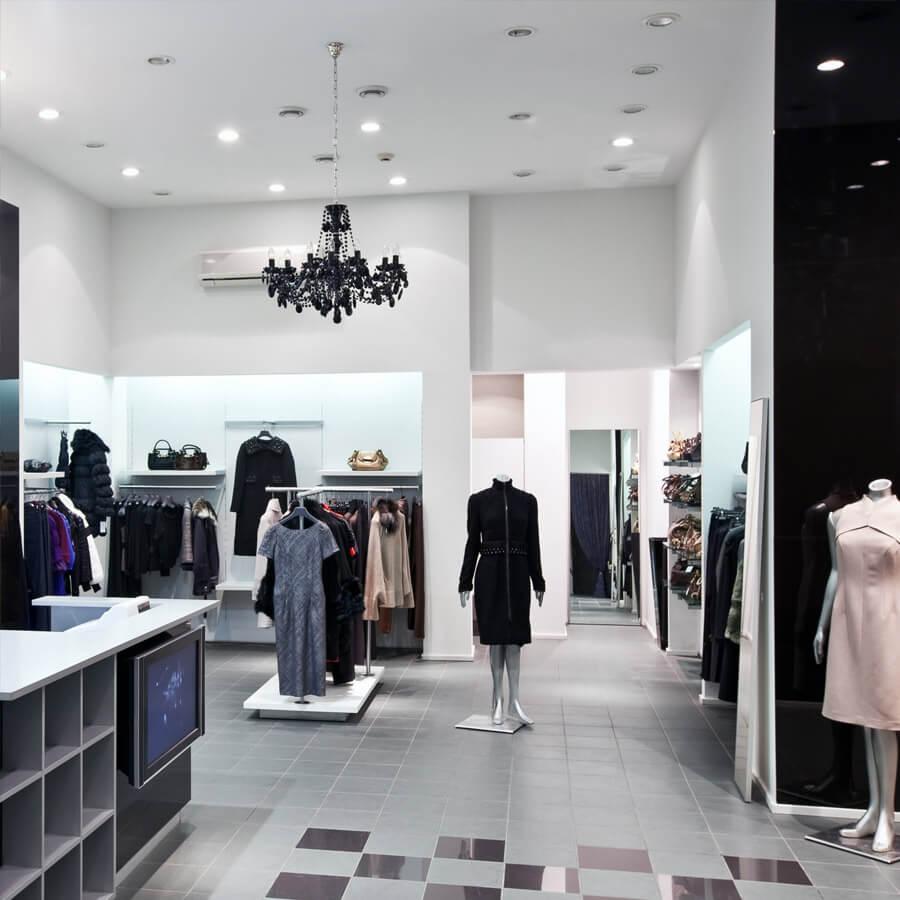 LED lumière pour boutique