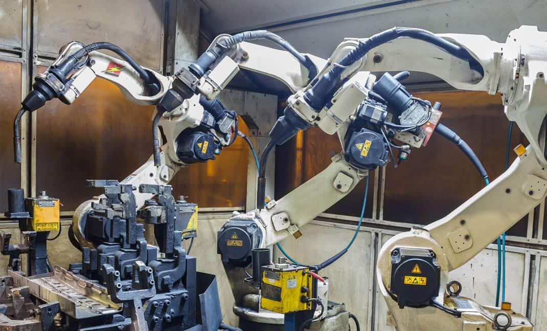 automatisation électrique pour usine