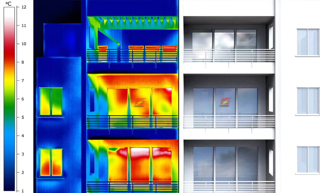 Étude en thermographie infrarouge