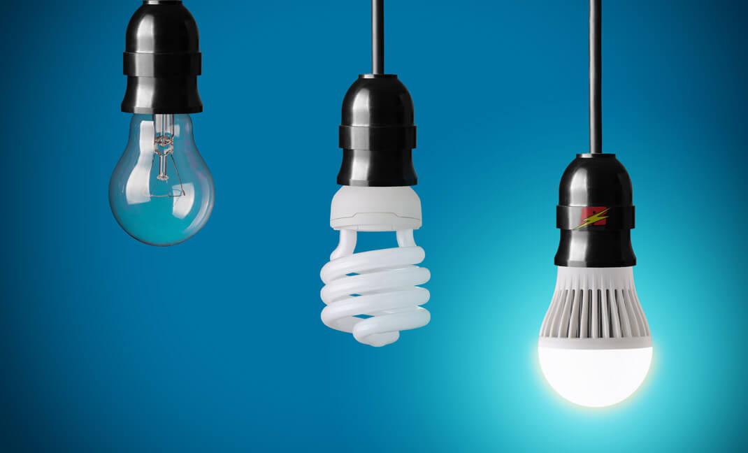 Installation lampe L.E.D.