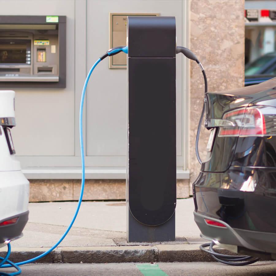 Subvention borne de recharge pour villes et entreprises du Québec
