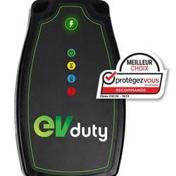 Laval Borne de recharge de véhicule électrique EVduty
