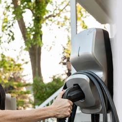 Montréal Borne de recharge de véhicule électrique FLO