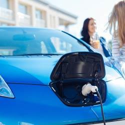 Terrebonne Borne de recharge de véhicule électrique EVduty